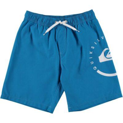 Bañador niño QUIKSILVER Short elástico ECLIPSE VL Blue (bmj6) Ref. AQBJV03011 azul logo pierna
