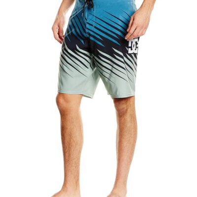Bañador DC Shoes surfero Hombre Short elástico Marine Park Blue (bpn1) Ref. ADYBS03019 azul/negro