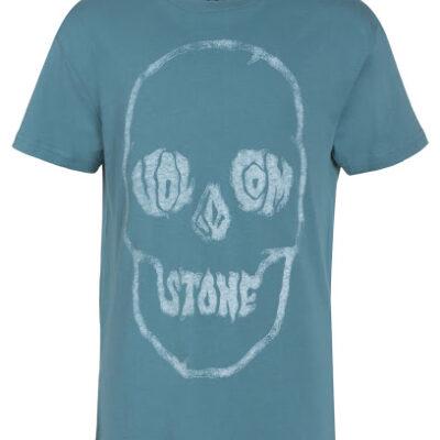 Camiseta VOLCOM manga corta niño surfera Tuffskull Bsc SS blue Ref. C3511655 azul calavera