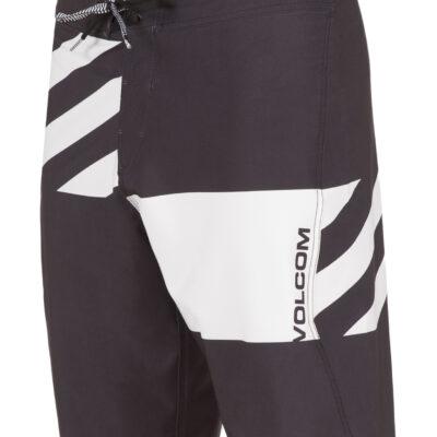 Bañador VOLCOM corto para Hombre Lido Block Mod 21 'Boardshort bwh Ref. A0811706 negro/blanco