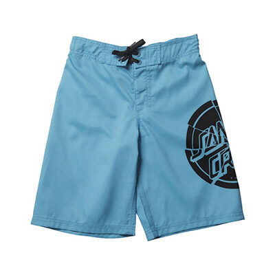 Bañador SANTA CRUZ surfero niño Short elástico Youth Shattered Dot Boardie Cyan Ref. SCYBSSH azul