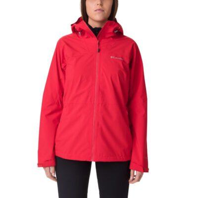 Chaqueta chubasquero COLUMBIA con capucha y aislamiento para Mujer Evolution Valley™ II Ref. 1842224658 roja