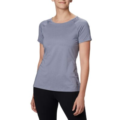 Camiseta COLUMBIA manga corta deporte técnica para mujer Peak to Point™ New Moon Heather Ref. 1885463467 azul