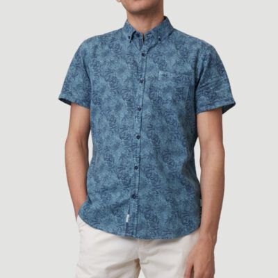 Camisa O'NEILL Hombre manga corta OUTLINE FLORAL SHORTSLEEVE SHIRT Arctic Ref. 1A3740 floral