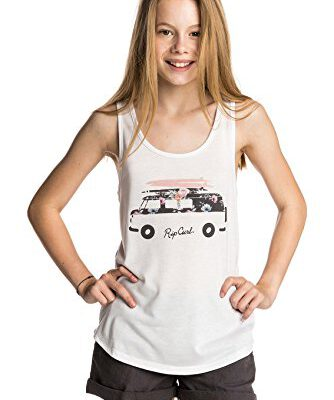 Camiseta RIP CURL niña tirantes surfera Floral Van Tank White Ref. JTEBI4 Blanca furgoneta