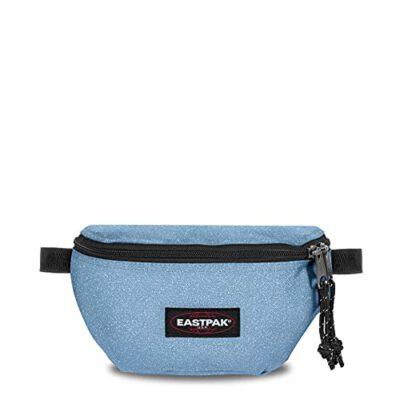 Riñonera Eastpak Springer 2 litros EK074K76 Gliticy azul cielo con un toque de purpurina brillante