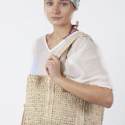 Bolso capazo BARTS de mano paya para mujer WINDANG TOTE Large Tote Bag Ref. 4775007 Paja natural