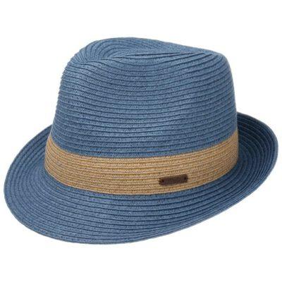 Sombrero paja BARTS playa para niña Scene Hat Kids Blue Ref. 8977404 azul/natural