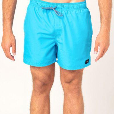 Bañador corto RIP CURL para hombre VOLLEY 15″ Boardshorts Blue Ref. CBOLQ4 Azul liso llamativo
