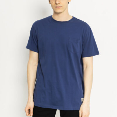 Camiseta DC Shoes surfera manga corta básica para hombre BASIC BRA0 Ref. EDYKT03291 azul bolsillo pecho