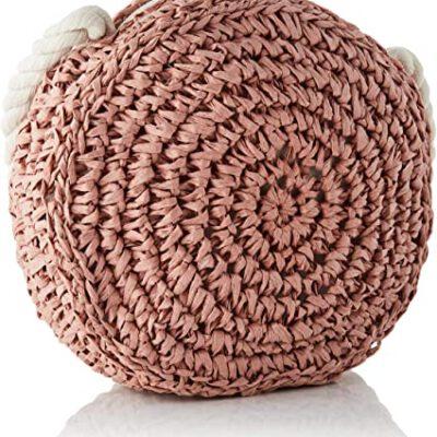 Bolso BARTS de mano de paja para mujer VENUS SHOULDERBAG Dusty Pink Ref. 6336008 Paja rosa