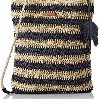Bolso BARTS de mano de paja para mujer MIRRA HANDBAG SHOULDERBAG Ref. 4770004 Paja azul marino/natural