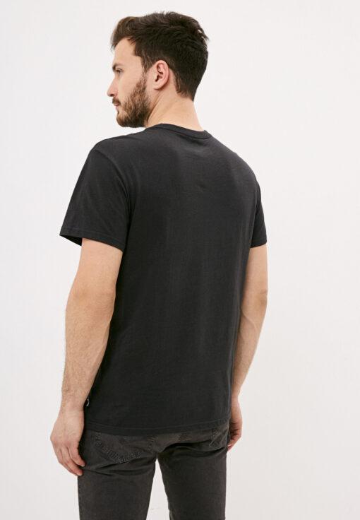 Camiseta BILLABONG para hombre manga corta Stacked Black Ref. S1SS01BIP0 negra lisa bolsillo pecho