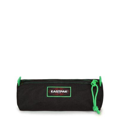 Estuche Eastpak escolar: Benchmark SINGLE EK372K33 Kontrast Clover negro/verde contraste