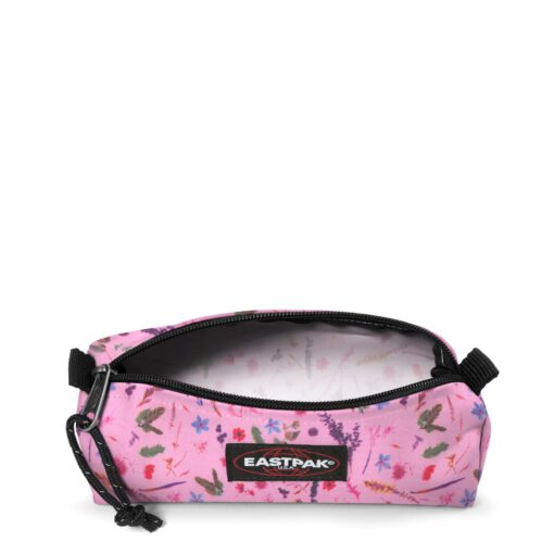 Estuche Eastpak escolar: Benchmark SINGLE EK372K44 Herbs Pink rosa claro flores
