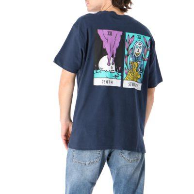 Camiseta Hombre RVCA manga corta t-shirt SUPERBLAST TAROT Moody blue Ref. U1 SSSV RVF0 Azul