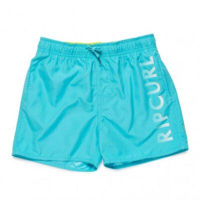 Bañador RIP CURL surfero niño Short elástico Basic Volley Boy Batch blue Ref. KBODC4 azul logo pierna
