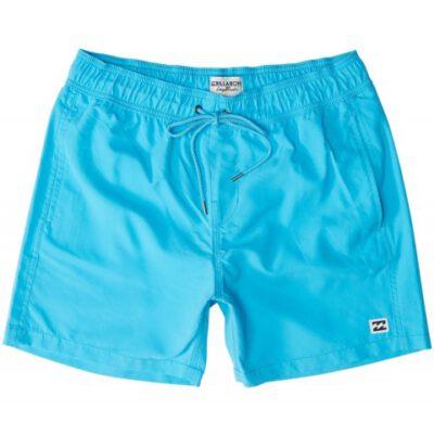 Bañador BILLABONG Short elástico para Hombre All Day Cyan Blue Ref. N1LB01 azul liso