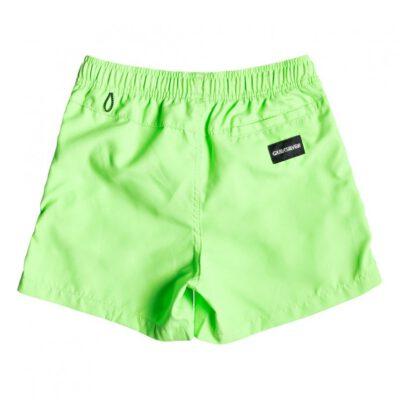 "Bañador niño QUIKSILVER Short elástico Everyday 13"" Green (ggy0) Ref. EQBJV03202 verde fluor"