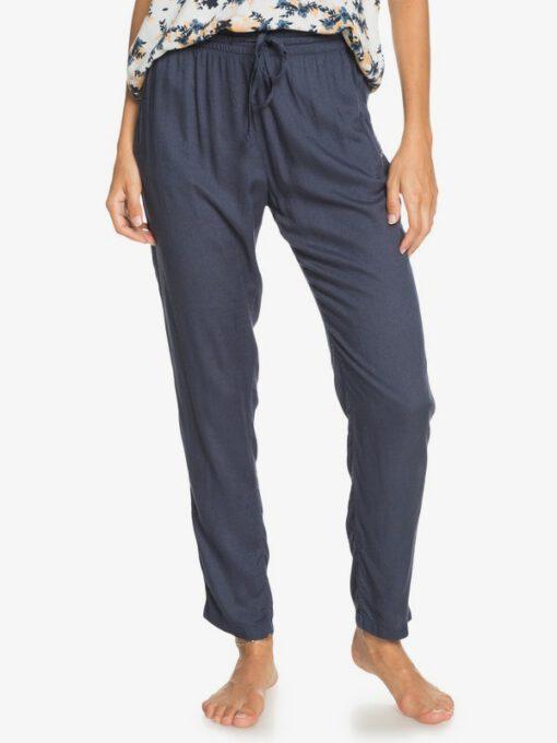 Pantalón ROXY para playa para Mujer Bimini MOOD INDIGO (bsp0) Ref. ERJNP03295 azul liso