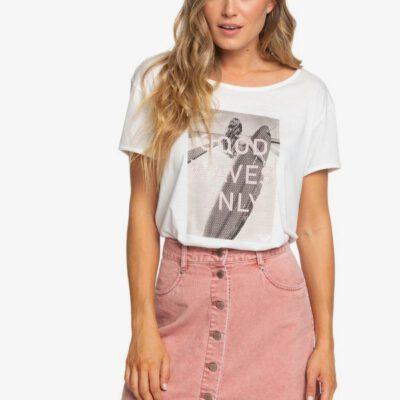 Falda corta ROXY de Pana con Botones para Mujer Unforgettable Fall (mms0) Ref. ERJWK03069 rosa claro