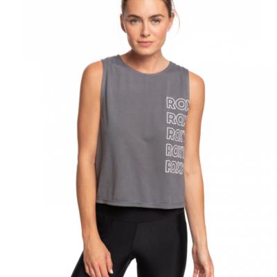 Camiseta ROXY Top Deportivo sin Mangas para Mujer Chinese Wispers (kpg0) Ref. ERJZT04788 gris