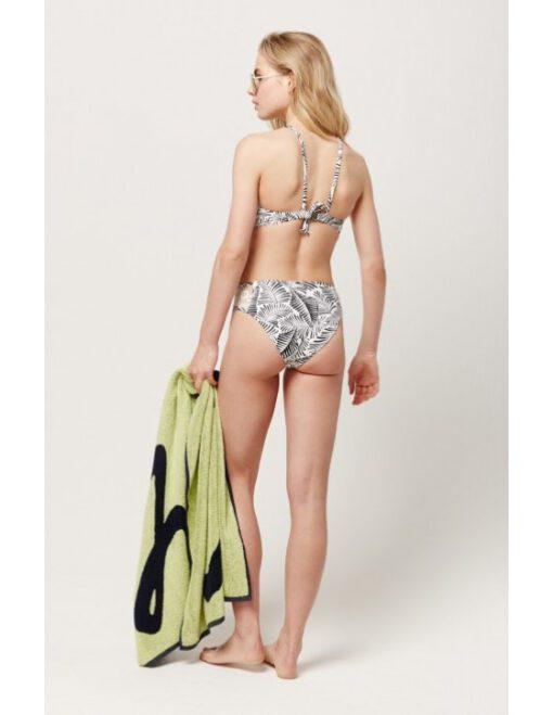 Braguita de bikini O'NEILL una pieza talle alto Mujer PW SOARA LACE TOP Ref. 9A8565 blanco/negro étnico