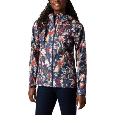 Chaqueta chubasquero COLUMBIA con capucha y aislamiento para Mujer Inner Limits™ II Ref. 1895802468 multicolor flores