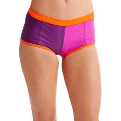 Braguita de bikini ROXY una pieza cobertura ancha Mujer reversible Go Shortie Pant Ref. ERJX403055 rosa/naranja