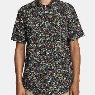 Camisa RVCA Manga Corta Hombre COSTELLO 1220/multi Ref. T1SHRF Estampado floral multicolor