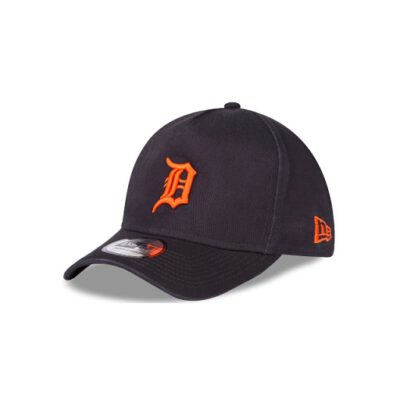 Gorra New Era Cap Adjustable Detroit Tigers Washed Ref. 80536580 azul marino logo naranja