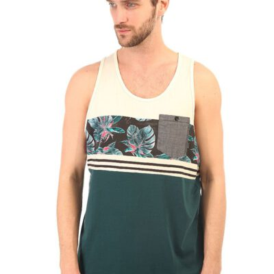 Camiseta BILLABONG hombre surfera tirantes BROTANICLE tank vapor Ref. W1JE02 bolsillo pecho tropical