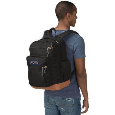 Mochila JanSport 34 litros triple con bolsillo para portátil COOL STUDENT Ref. EK0A5BAKN55 Black/negra