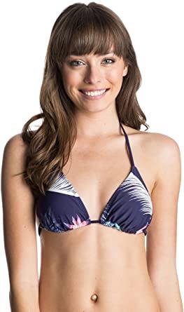 Sujetador de bikini ROXY una pieza para Mujer Getaway Tiki Tri Top (pss6)) Ref. ARJX303148 morado flores