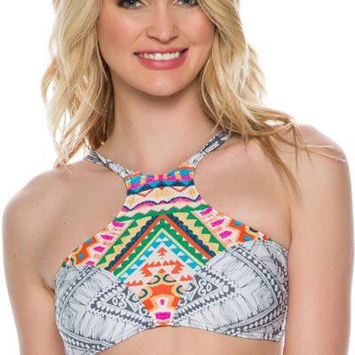 Sujetador top de bikini RIP CURL una pieza para Mujer Mayan sun hi neck Ref. GSIAS0 multicolor