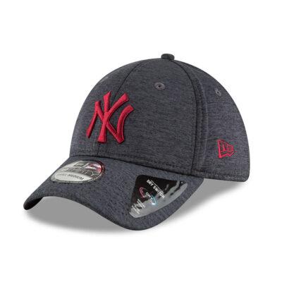 Gorra New Era Cap 39THIRTY NEW YORK YANKEES DRY SWITCH Ref. 80636008 gris logo granate