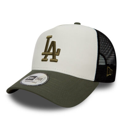 Gorra New Era Cap ADJUSTABLE rejilla Los Angeles Dodgers Nylon Truker Ref. 80636016 verde/blanca