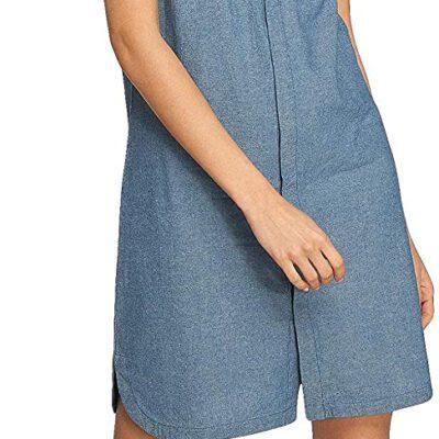 Vestido NIKITA camisero sin mangas Mujer CATS EYEDRESS Chambray REF. NHWDCAT-CBR azul