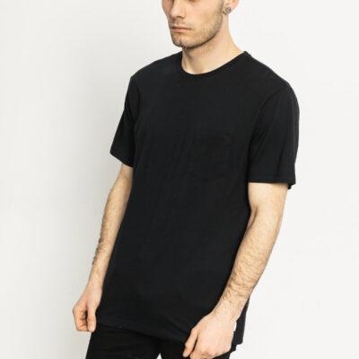 Camiseta DC Shoes surfera manga corta básica para hombre BASIC POCKET TEE (kvj0) Ref. EDYKT03291 negra bolsillo pecho