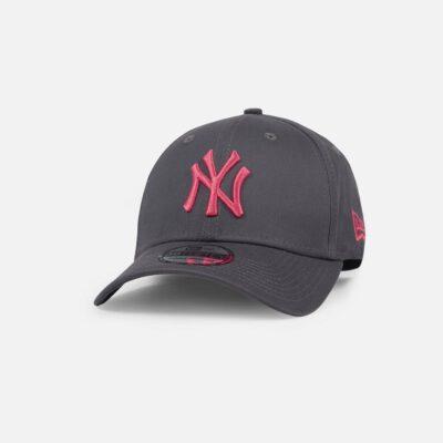 Gorra New Era Cap 39THIRTY NEW YORK YANKEES league essential Ref. 80536257 gris con logo rojo
