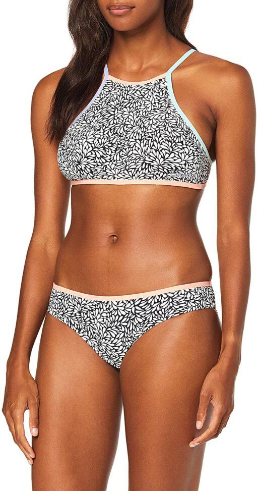 Top de bikini O'NEILL una pieza mujer PW Lanka Maoi TOP Ref. 9A8306 blanco/negro flores