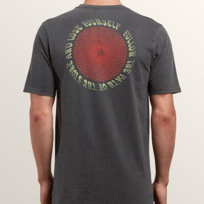 Camiseta VOLCOM manga corta niño surfera SYSTEM MANIC SS TEE Black Ref. A5221803 negra