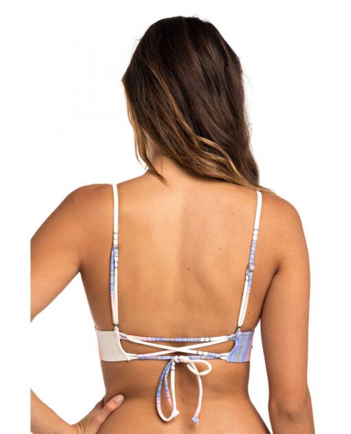 Sujetador top de bikini RIP CURL una pieza triangular para Mujer Cabana Fixed Ref. GSITX3 multicolor colores pastel