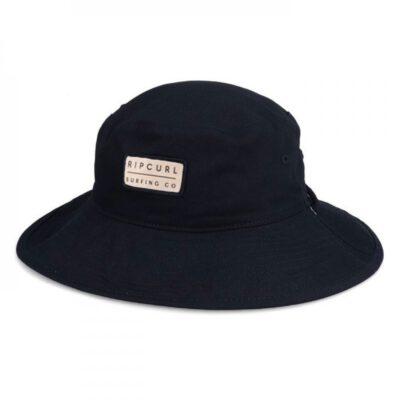 Sombrero RIP CURL gorro de copa REVERSIBLE Revo Valley Mid Brim Hat Dark olive Ref. CHAAF9 negro/camuflaje