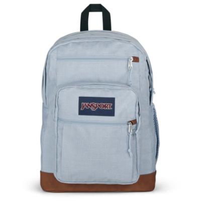 Mochila JanSport 34 litros triple con bolsillo para portátil COOL STUDENT Ref. EK0A5BAKN57 Blue dusk/azul claro