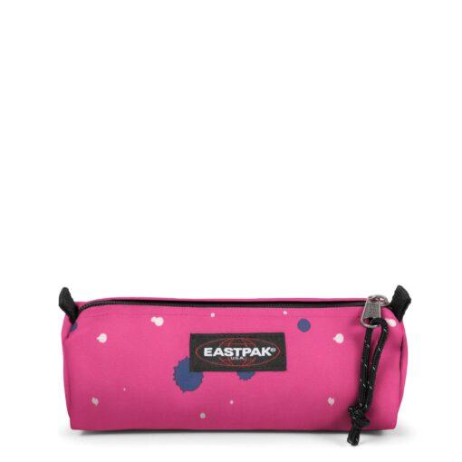 Estuche Eastpak escolar: Benchmark SINGLE EK372K28 Splashes Escape rosa pinceladas
