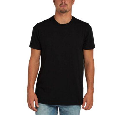Camiseta BILLABONG para hombre manga corta All day ss Black Ref. H1JE08 negra básica