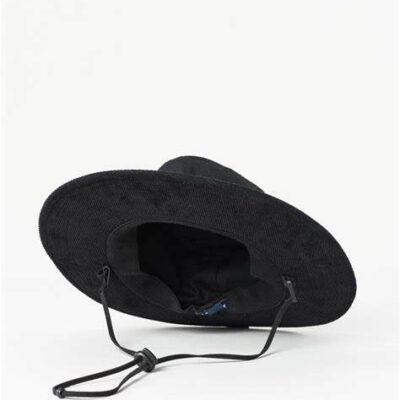 Sombrero RIP CURL de ala ancha algodón/pana Search Wide Brim Ref. CHAAB9 negro