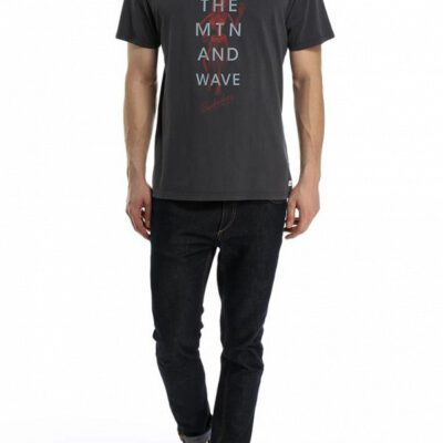 Camiseta QUIKSILVER manga corta algodón para Hombre Garment Dyed TARMAC (kta0) Ref. EQYZT03165 gris oscura