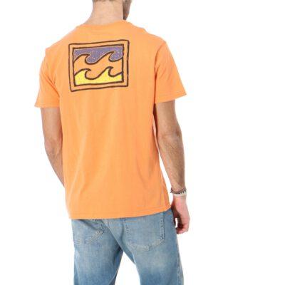 Camiseta BILLABONG para hombre manga corta Ahorrar Warchild Tee SS Sunset Ref. SS1SS62 naranja olas